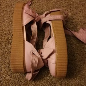 Puma Shoes - Puma fenty tie up shoes